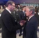 Predsednik Srbije u Davosu: Vučić razgovarao sa Trampovim savetnikom za bezbednost