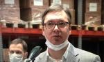 Predsednik Vučić: Branimo našu Srbiju na najbolji mogući način! Dovezli smo 30 miliona, a čekamo još 50 miliona maski (VIDEO)