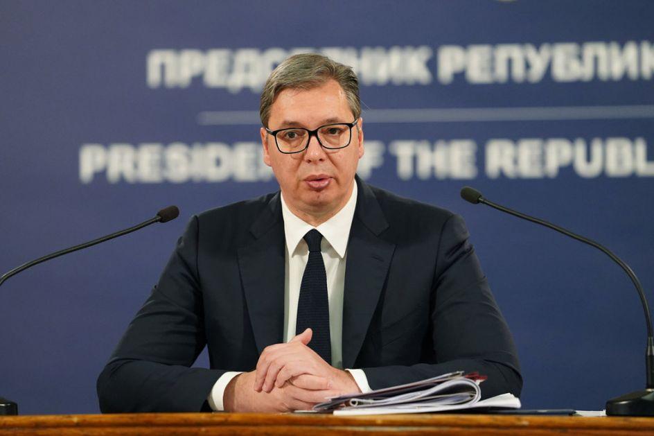 Predsednik Vučić čestitao Guterešu reizbor
