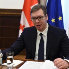 Vučić nakon sastanka sa Mičelom: Srbija je ispunila sve obaveze iz Briselskog sporazuma, Albanci NISU