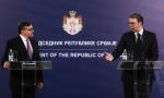 Predsednik Vučić o Palmerovim pretnjama: Da povuku takse, a mi da priznamo Kosovo? To podseća na šalu