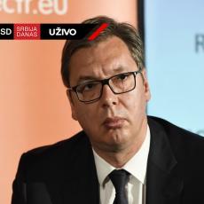Predsednik Vučić: Čestitam građanima Srbije što sa malo ruku i mnogo snage radimo najbolje za našu zemlju