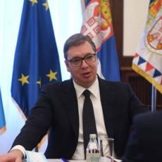 Predsednik Vučić se sastao sa regionalnim direktorom SZO Hansom Klugeom
