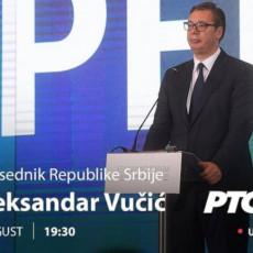 Predsednik govori o svim važnim temama vezanim za Srbiju: Vučić večeras gost Dnevnika na RTS-u (FOTO)