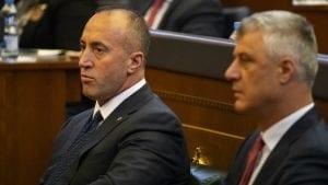 Tači i Haradinaj pozdravili usvajanje rezolucije o genocidu Srbije na Kosovu