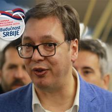 Predsednik nastavlja kampanju Budućnost Srbije: Vučić obilazi Mačvanski okrug