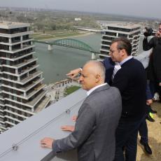 Predsednik sutra na otvaranju najvećeg tržnog centra u regionu: Beograd na vodi u novom ruhu!