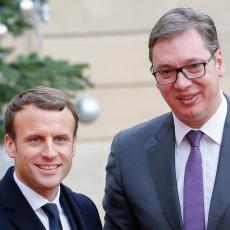 Predsednik u utorak boravi u Parizu: Ovo su glavne teme razgovora Vučića i Makrona