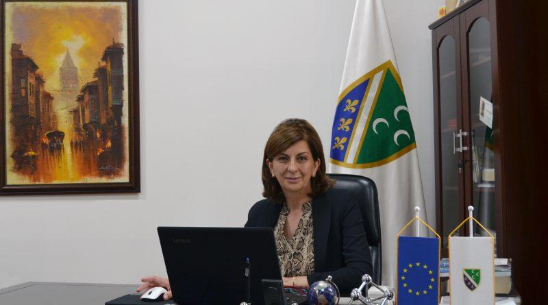Predsjednica BNV čestitala Dan bošnjačke nacionalne zastave