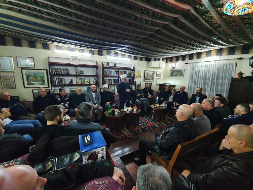 Predsjednik Mešihata na tribini u Pljevljima