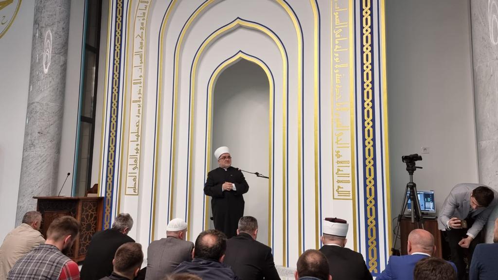 Predsjednik Mešihata obišao Islamski centar Gazilar