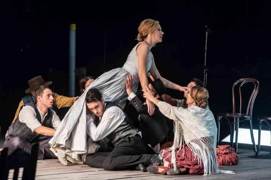 Predstava Krvave svadbe na sceni Pera Dobrinović