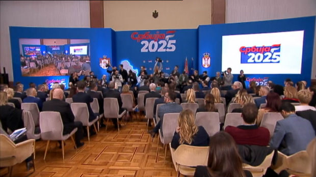 Vučić i Brnabićeva predstavili plan za preporod Srbije do 2025, mladi i putevi prioritet
