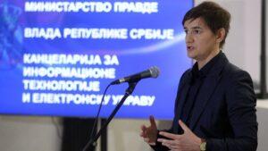 Predstavljena usluga eUverenje, Brnabić istakla značaj usluge jer unapređuje efikasnost sudstva