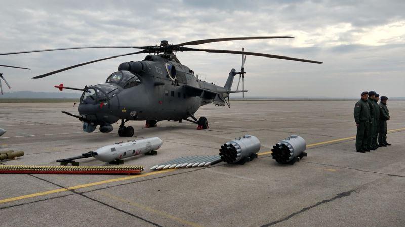 Predstavljeni novi vojni helikopteri u Batajnici