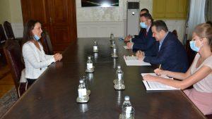 Predstavnica UNICEF-a u Srbiji u oproštajnoj poseti kod Dačića