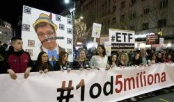 Predstavnici Jedan od pet miliona: Kažnjeni smo zbog oglašavanja bez dozvole