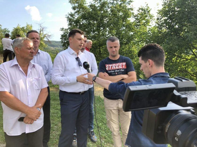 Predstavnici lokalne vlasti u Prijepolju na terenu – saniraju se putna oštećenja usljed poplava