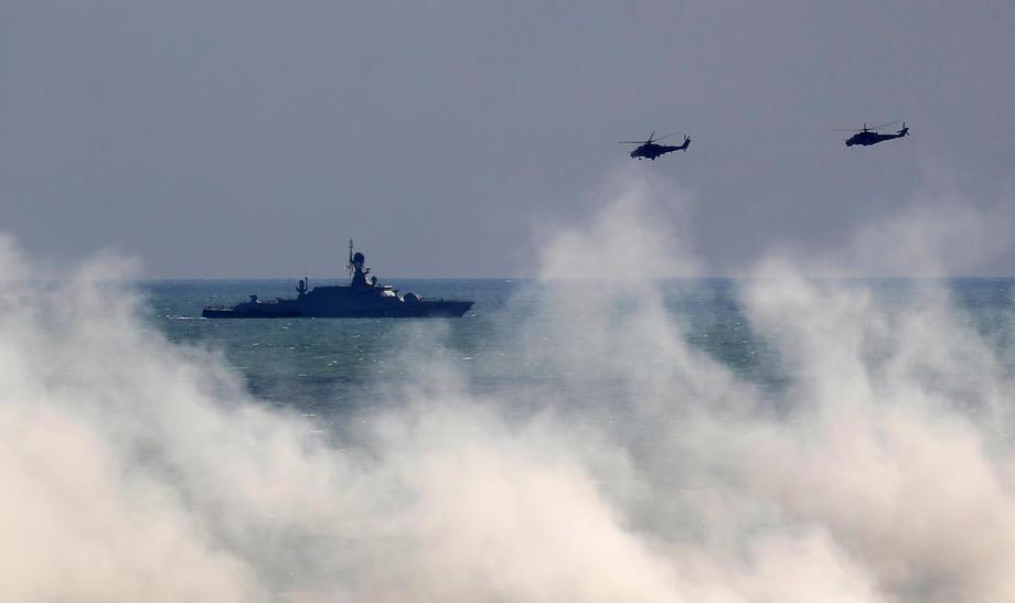 Prema Crnom moru krenulo 15 brodova Kaspijske flotile