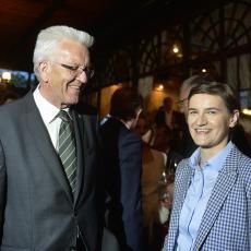 Premijer nemačke pokrajine Baden-Virtemberg danas sa premijerkom Srbije