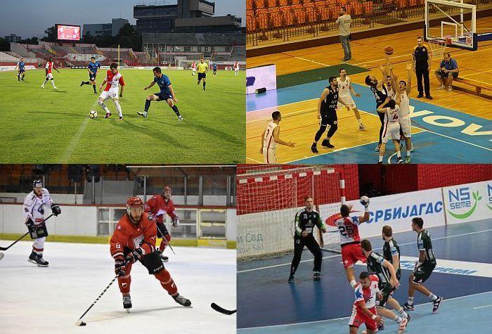 Premijere hokejaša i košarkaša Vojvodine, rukometaši startuju na evropskoj sceni, fudbaleri u dobrom ritmu