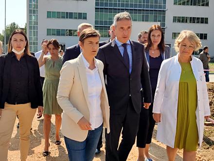 Premijerka: Generalno sam zadovoljna, biće JOŠ JAČA PODRŠKA za Vranje