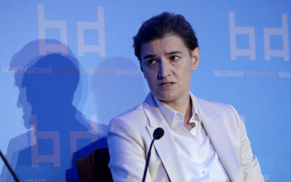 Brnabić: Srbija prinuđena da balansira