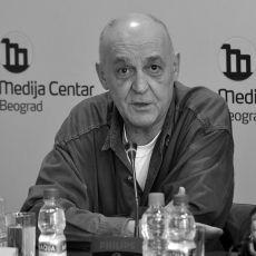 Preminuo novinar Miloš Vasić: Izgubio bitku posle duge i teške bolesti
