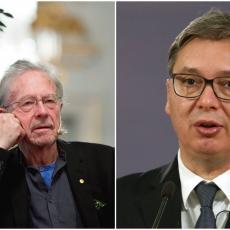Presednik Vučić danas Handkeu uručuje orden: Karađorđeva zvezda prvog stepena za austrijskog nobelovca