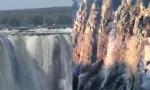 Presušili Viktorijini vodopadi: Ovo se dešava prvi put u istoriji, tužne slike obišle svet (VIDEO)