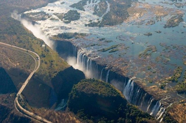 Presušili Viktorijini vodopadi: Ovo smo prvi put videli. Nije bilo ovako FOTO/VIDEO