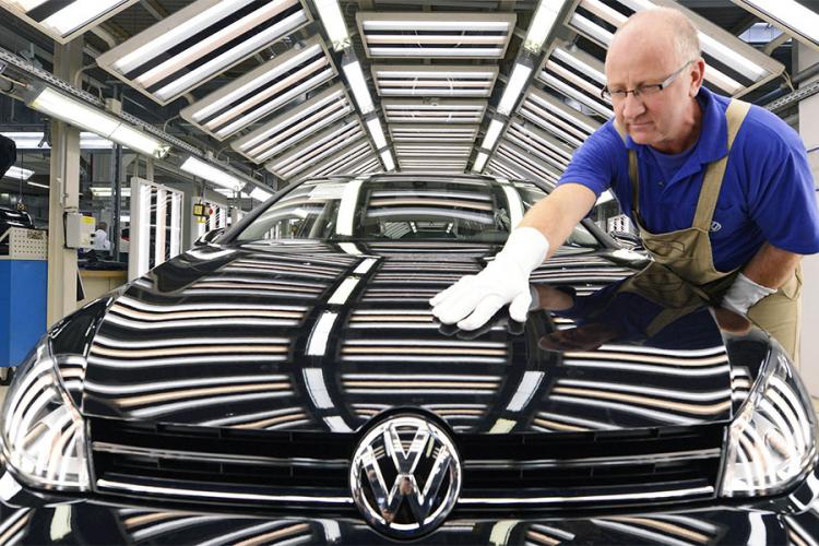 Pretres u kancelarijama Volkswagena