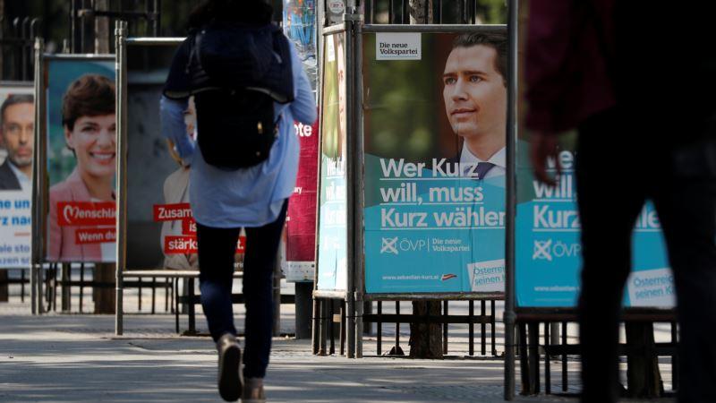 Kurcova stranka vodi na izborima u Austriji, pad krajnje desnice