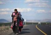 Prevrnuo se kombi sa migrantima, vozač pobegao