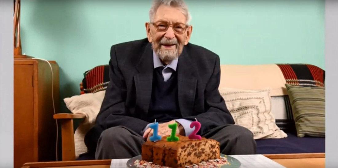 Preživeo špansku groznicu, koleru i boginje, a danas proslavio 112. rođendan sam u karantinu (VIDEO)