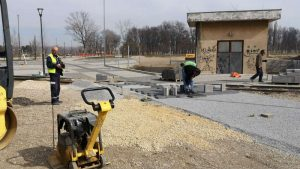 Pri kraju izgradnja Savske avenije u Šapcu