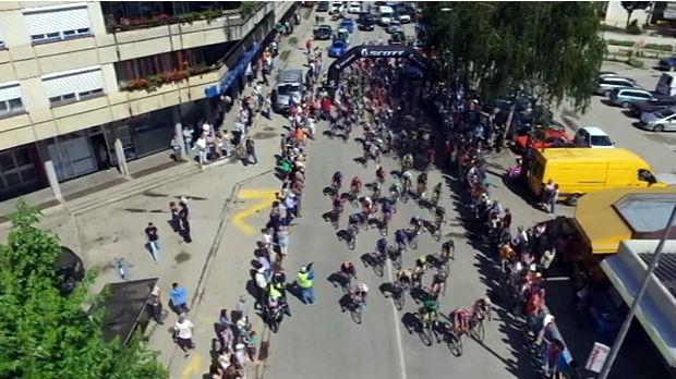 Priboj dočekuje biciklističku elitu