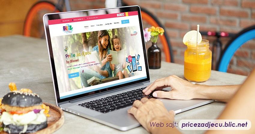 Pricezadjecu.blic.net – Nova internet prezentacija koja promoviše dječije autorske radove