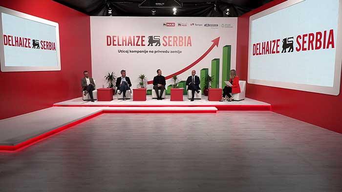 Prikazani rezultati studije o makroekonomskom i socijalnom uticaju poslovanja Delez Srbija na privredu zemlje