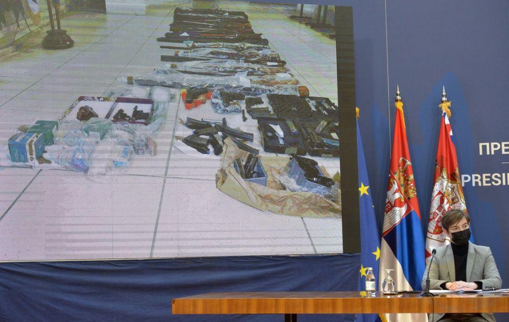 Prikazan deo fotomaterijala zločina, Vučić: Srbija neće da trpi narkodilere i ubice