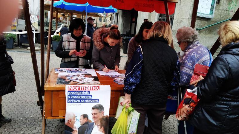 Prikupljanje potpisa za predsjedničke izbore