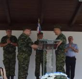Primopredaja dužnosti komandanta Četvrte brigade Kopnene vojske