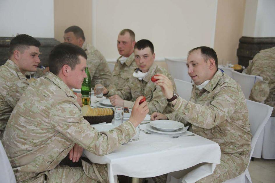Pripadnici ruske vojske u Srbiji dezinfikovali više od 670 hiljada kvadratnih metara objekata