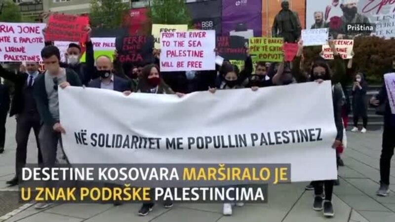 Priština: Protest podrške za Palestinu