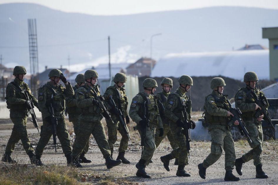Priština: Za oružane snage 2022. više od 100 miliona evra iz budžeta