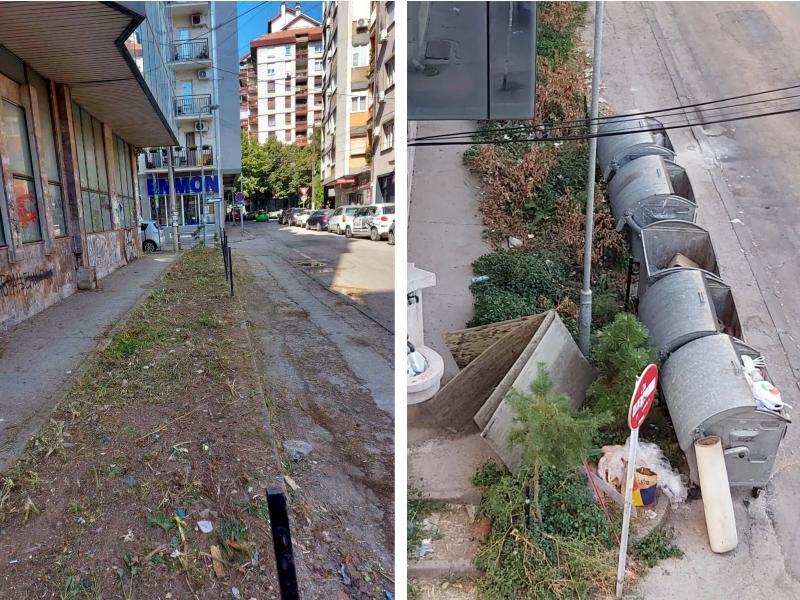 Pritužbe građana na nepokošenu travu i smeće Mediana rešila nakon pitanja novinara