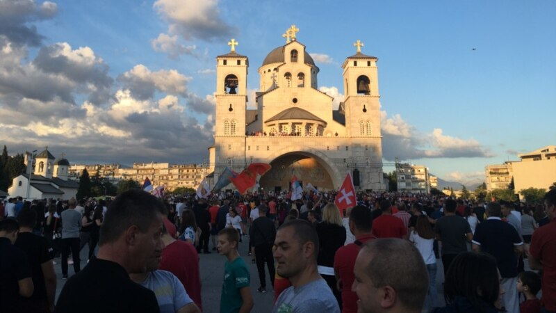 Privedeni osumnjičeni za napad na Cetinjsku bogosloviju