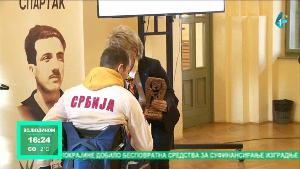 Priznanja najboljim sportistima Vojvodine