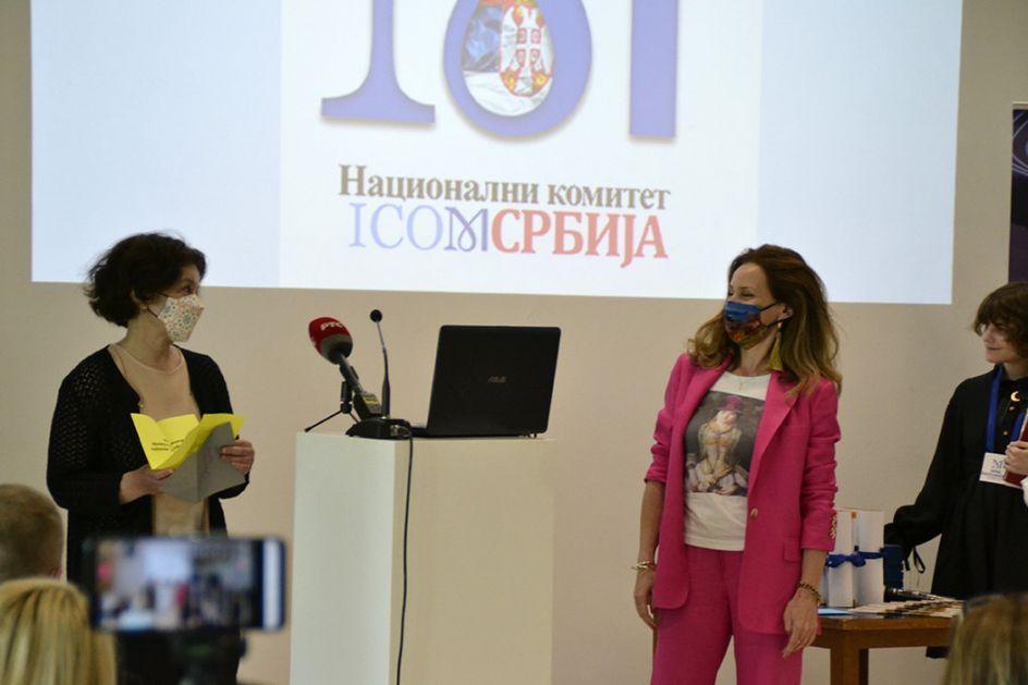 Priznanje dr Tijani Palkovljević Bugarski