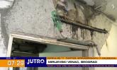 Problem sa krovom u Mirijevu, stanar tvrdi da je životno ugrožen VIDEO